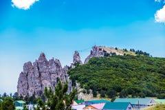 Ai-petri en Yalta Crimea fotografía de archivo libre de regalías