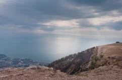 Ai-petri Krim landskap arkivbilder