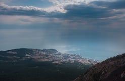 Ai-petri Krim landskap arkivfoto