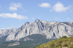Ai-Petri. Mount Ai-Petri in Crimea Royalty Free Stock Images