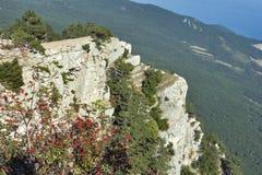 Ai-Petri Mountain in Crimea Royalty Free Stock Image