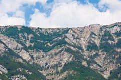 Ai-Petri mountain landscape. Mountain landscape in the Crimean Mountains. Ai-Petri stock image