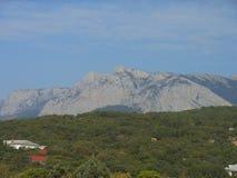 Ai-Petri mountain. View to the Ai-Petri mountain stock photos
