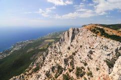 Ai-Petri Mountains, Crimea Stock Image