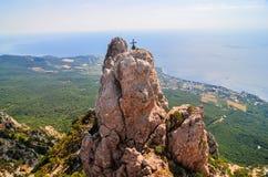 Ai-Petri Mountains, Crimea Royalty Free Stock Photo
