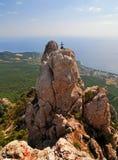 Ai-Petri Mountains, Crimea Stock Photo