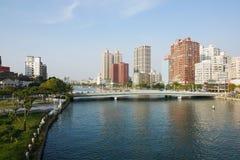 Ai río él o del amor en Gaoxiong Foto de archivo