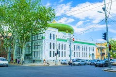 The Ai Salam mosque. ODESSA, UKRAINE - MAY 18, 2015: The Al Salam mosque is one of the most beautiful mosque in the country, on May 18 in Odessa Stock Photography