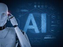 Free AI Technology Concept Royalty Free Stock Photos - 144813598