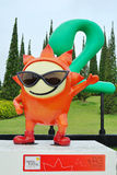 Ai Un mascot Royalty Free Stock Image