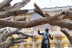 Ai Wei Wei's Tree at the Royal Academy of Arts Stock Photo