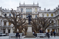 Ai Wei Wei's Tree at the Royal Academy of Arts Royalty Free Stock Photos