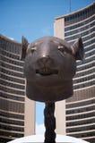 Ai Weiwei zodiaka głowy Fotografia Stock