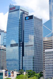 AIA Buduje Hong Kong Obraz Stock