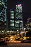 AIA i Chiny bank Obrazy Royalty Free