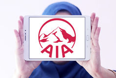 Aia ubezpieczenia logo Zdjęcia Royalty Free