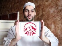 Aia ubezpieczenia logo Obrazy Stock