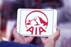 Aia ubezpieczenia logo Zdjęcie Royalty Free