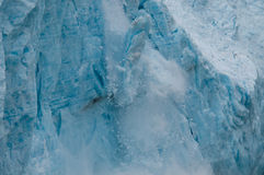 Aialik Glacier Calving Royalty Free Stock Photo