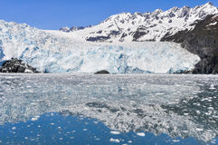 Aialik glacier, Kenai Fjords National Park (Alaska) Royalty Free Stock Photos