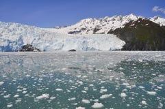 Aialik glacier, Kenai Fjords National Park (Alaska) Royalty Free Stock Photography