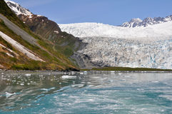 Aialik glacier, Kenai Fjords NP, Alaska Royalty Free Stock Photography