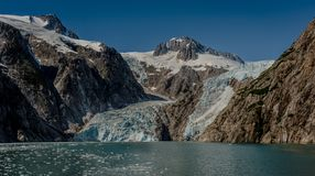 Aialik lodowiec Zdjęcie Stock