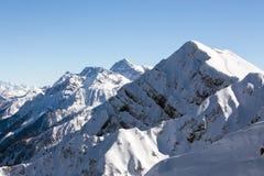 Aibga kant BergKamennyy stolb 2509m för russia sochi för 2014 2018 kopplekar olympic värld vinter Arkivfoto