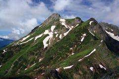 Aibga ridge. Near Sochi in the Caucasus Stock Images
