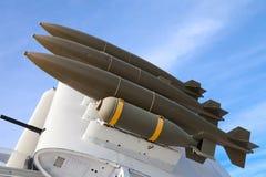 aicraft bomb skrzydło Obraz Royalty Free