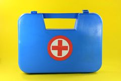 Aid box Royalty Free Stock Images