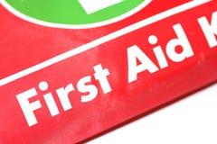 aid emergency first kit red στοκ εικόνες με δικαίωμα ελεύθερης χρήσης