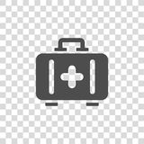 Aid kit vector icon Royalty Free Stock Images