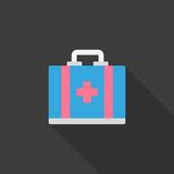 Aid kit vector icon Royalty Free Stock Photography
