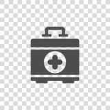 Aid kit vector icon Royalty Free Stock Image