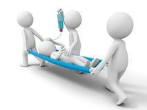 Aid, patient Stock Photo