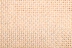 Aida cloth. Used for cross stich and embroidery Royalty Free Stock Image