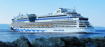 Aida Cruise Royalty Free Stock Photos