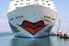 AIDA Cruise Ship Royalty Free Stock Image