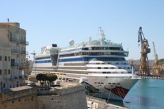 AIDA Cruise Ship Stock Image