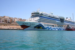 AIDA Cruise Ship Stock Photography