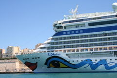 AIDA Cruise Ship Stock Photo