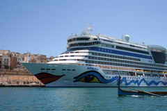 AIDA Cruise Ship Royalty Free Stock Photography