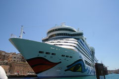AIDA Cruise Ship Royalty Free Stock Photo