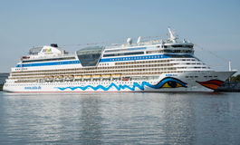 Aida Diva cruise ship. Image of the large and beautiful, luxury cruise ship Aida Diva. Its under the flag of Italy, Costa Crociere cruises. Image is taken in royalty free stock images