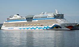 Aida diwy statek wycieczkowy Obrazy Royalty Free
