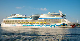 Aida Mar cruise ship Stock Photography