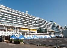 The AIDA Prima cruise ship Stock Photography