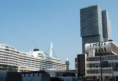 The AIDA Prima cruise ship Royalty Free Stock Image