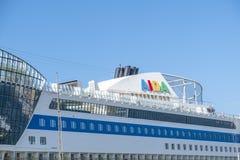 Aida som kryssar omkring skeppsplittring Royaltyfria Bilder